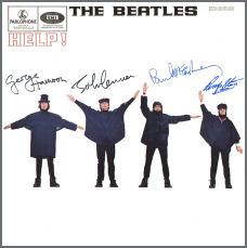 001424 - The Beatles Help! LP Sleeve 1965