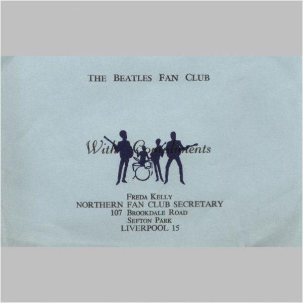 Beatles Fan Club Items