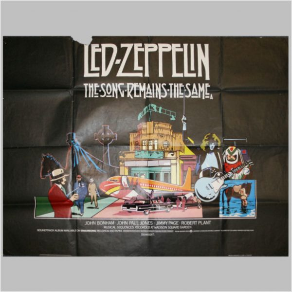 Led Zeppelin Various Memorabilia