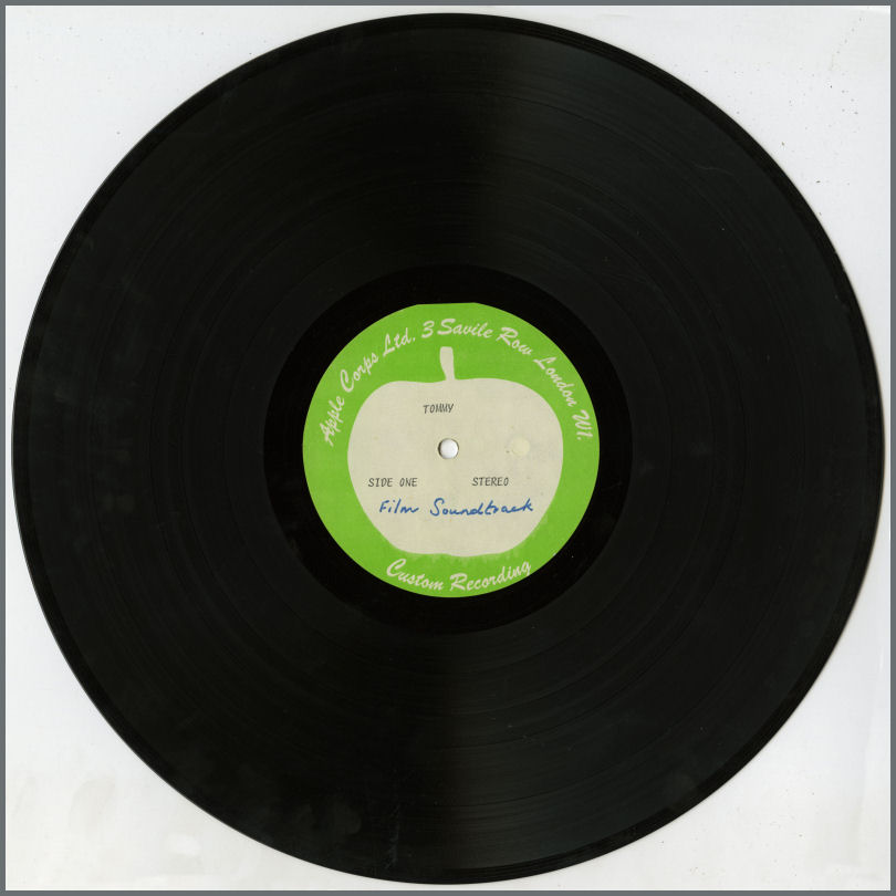 B24907 The Who 1974 Tommy Soundtrack Apple Corps