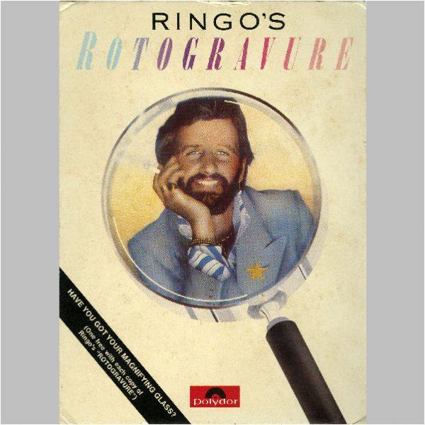 Ringo Starr Solo Items