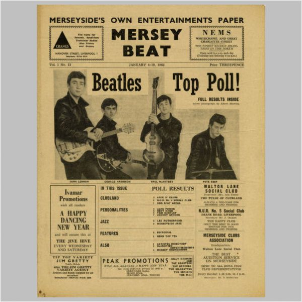 Mersey Beat & Music Echo Papers