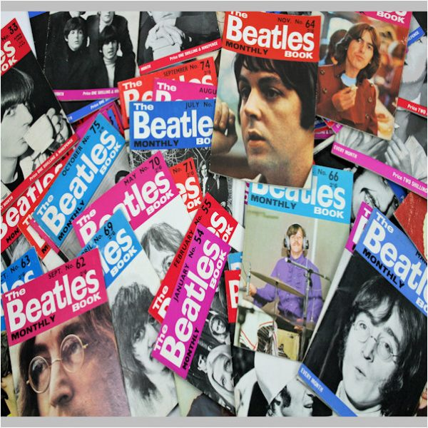 Beatles Monthlies, Magazines & Music Papers (NME, Rave etc.)