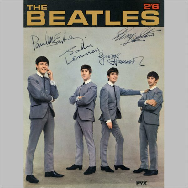 Beatles Autographs