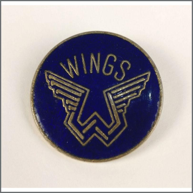 B26137 Paul McCartney 1970s Wings Metal Pin Badge