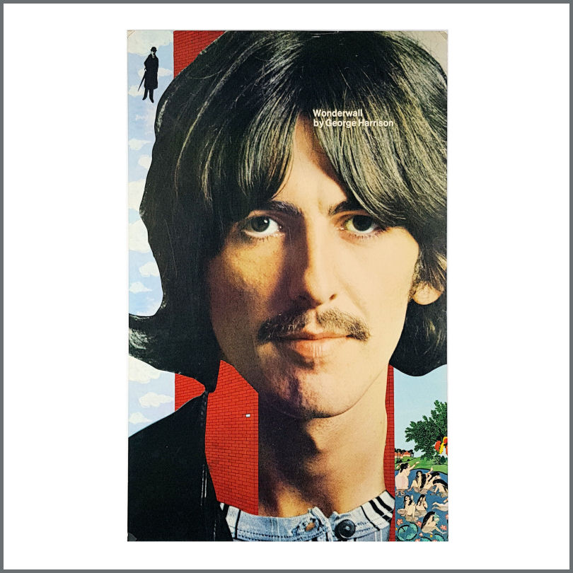 B26739 George Harrison 1968 Wonderwall Promotional Poster USA