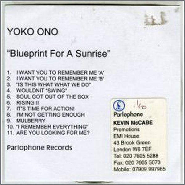 B10371 - Blueprint For A Sunrise. Yoko Ono (UK)