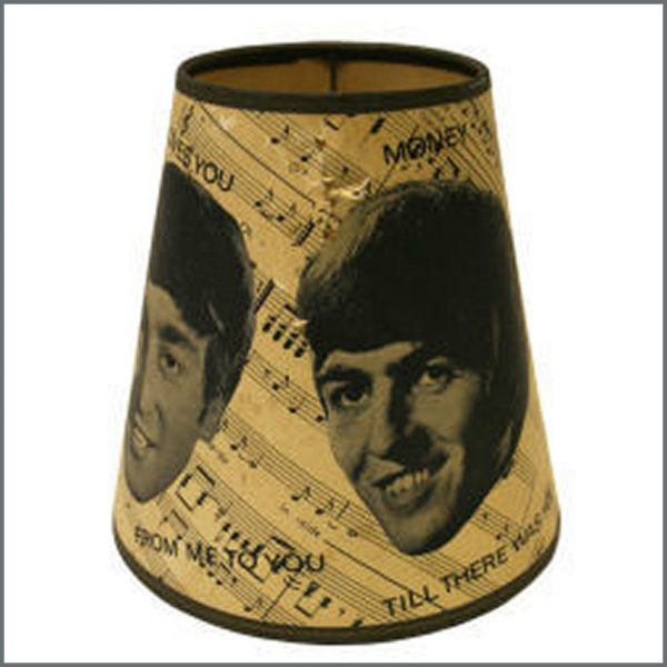 B15861 - Beatles Original 1960s Lamp Shade (UK)