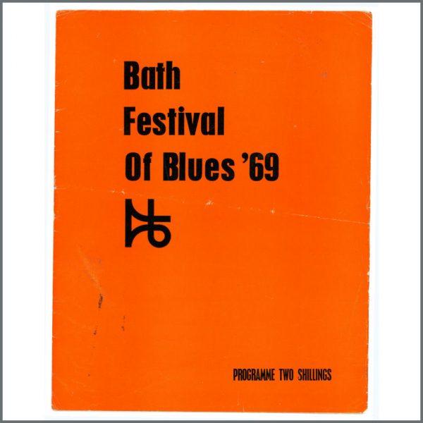 B18843 - Led Zeppelin 1969 Festival Of Blues Programme (UK)