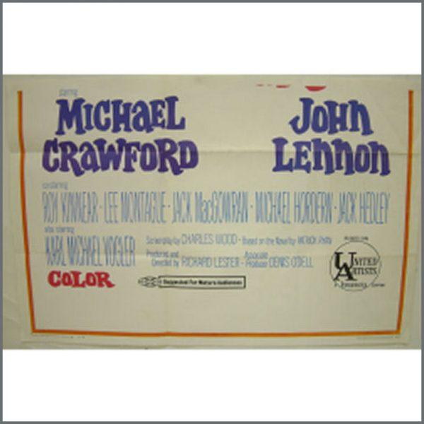 B18865 – John Lennon How I Won The War Promo Poster (USA) 2
