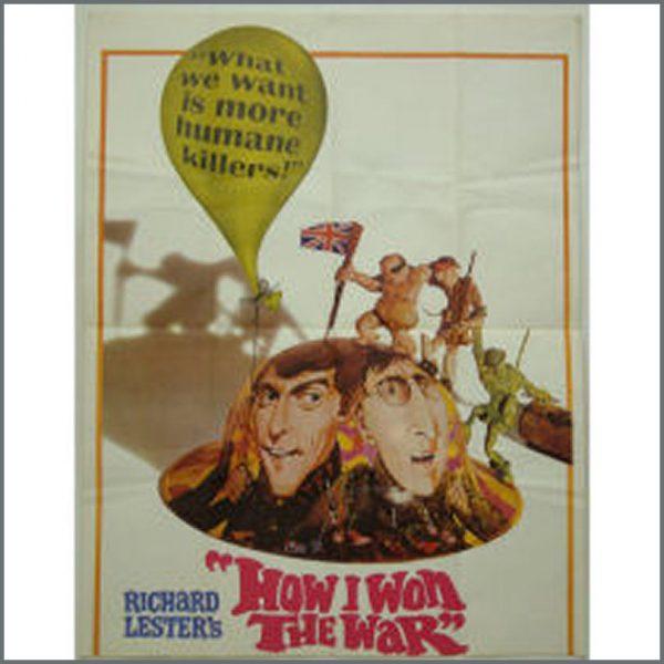 B18865 - John Lennon How I Won The War Promo Poster (USA)