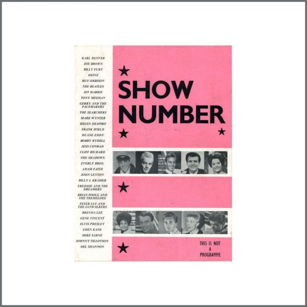 B20926 - Beatles And Others Show Number 1960s Souvenir Booklet (UK)