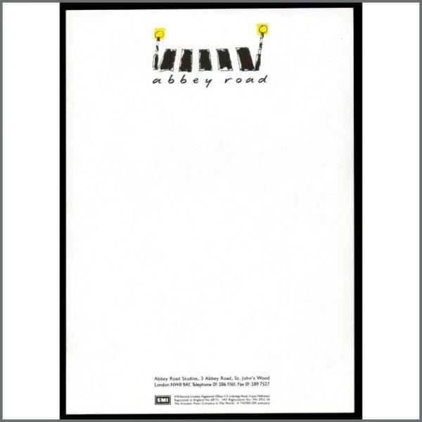 B20952 - Abbey Road Studios A5 Notepaper (UK)