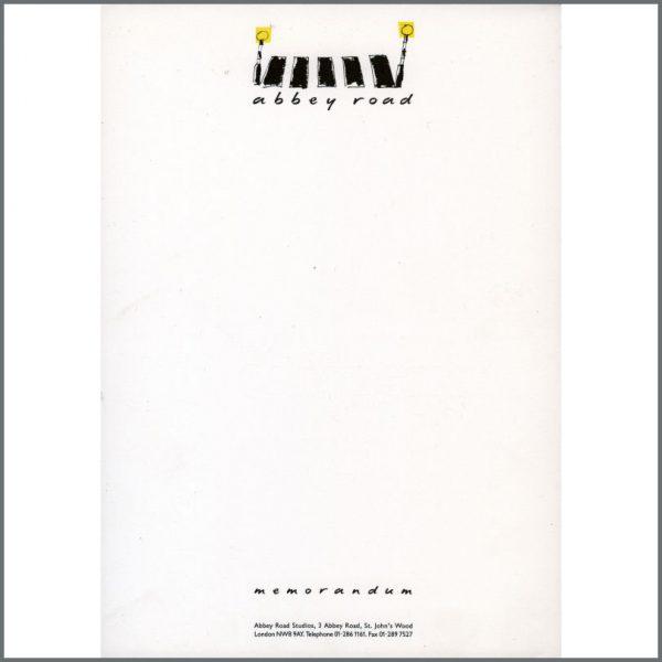 B20953 - Abbey Road Studios A4 Memorandum Paper (UK)