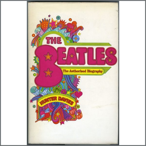B21037 - The Beatles: The Authorised Biography Book by Hunter Davies (UK)