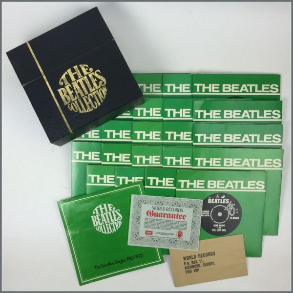 B21495 - The Beatles Collection 7 Inch Singles (UK)