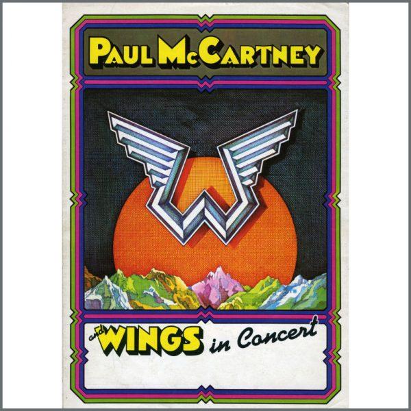 B21648 - Paul McCartney And Wings 1975 Concert Programme (UK)