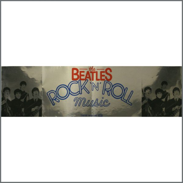 B22276 - The Beatles Rock 'n' Roll Music Sticker Poster (France)