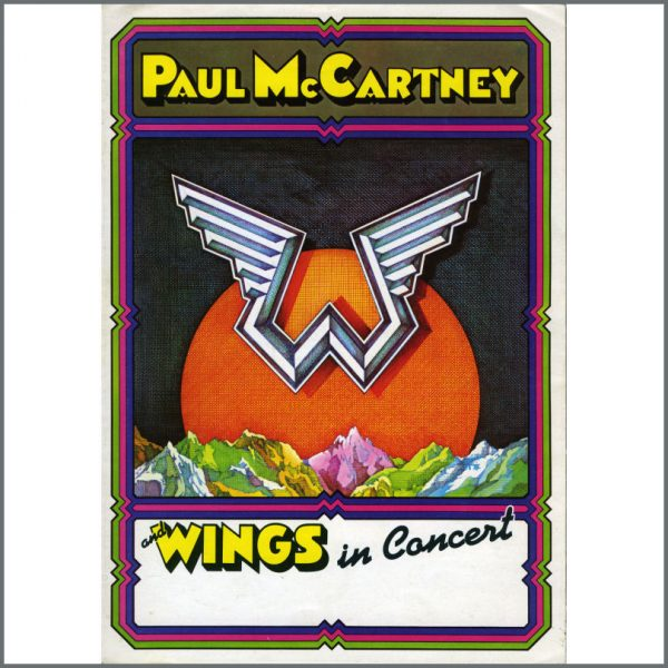 B22480 - Paul McCartney And Wings 1975 Concert Programme (UK)