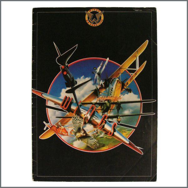 B22483 - Wings 1979 Souvenir Tour Programme (UK)