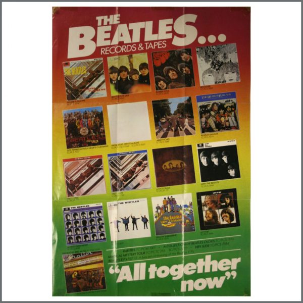 B22539 - The Beatles Records & Tapes Promotional Poster (UK)