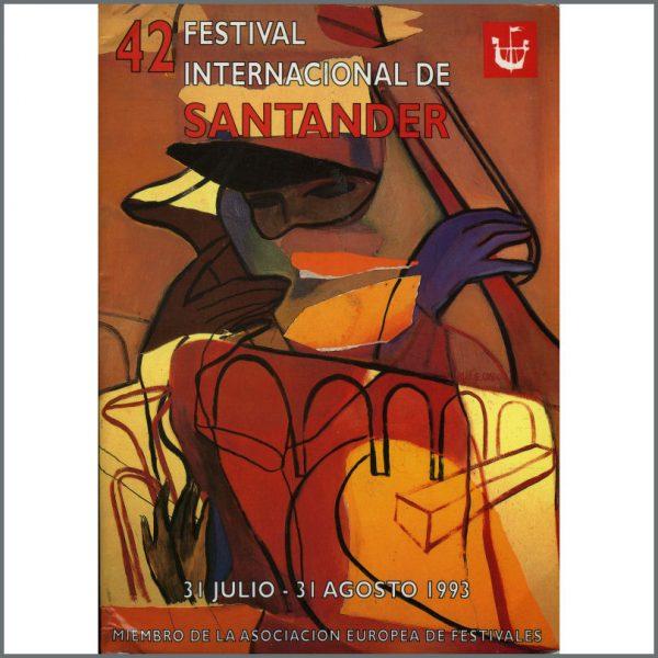 B22585 - Liverpool Oratorio 1993 Santander Festival Programme (Spain)