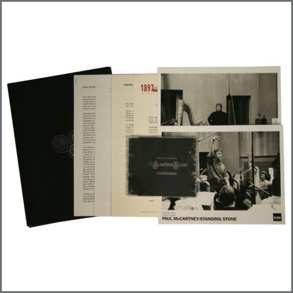 B22586 - Paul McCartney 1997 Standing Stone Press Kit (UK)