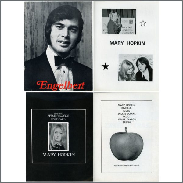 B22589 - Engelbert Humperdinck Mary Hopkin 1969 Tour Programme (UK)