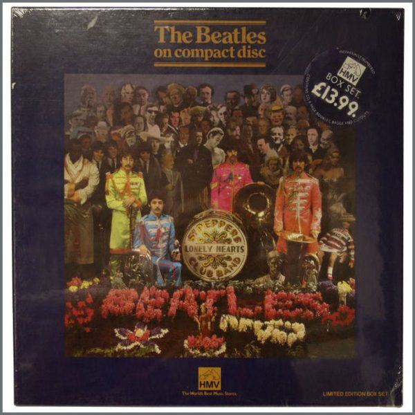 B22624 - The Beatles 1987 Sgt Peppers Sealed HMV Box Set (UK)