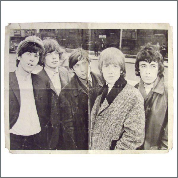 B22752 - Rolling Stones 1960s Merchandising Poster (UK)
