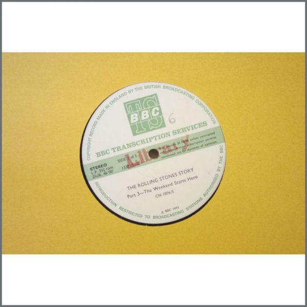 B22790 – Rolling Stones 1973 BBC Transcription Discs (UK) 2