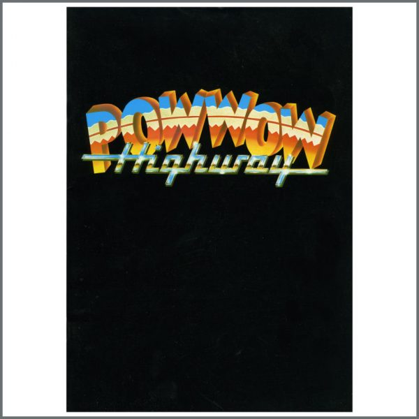 B22815 - Handmade Films Pow Wow Highway Press Release Book (UK)