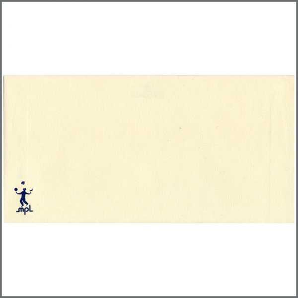 B22817 - Paul McCartney Unused MPL Communications Envelope (UK)