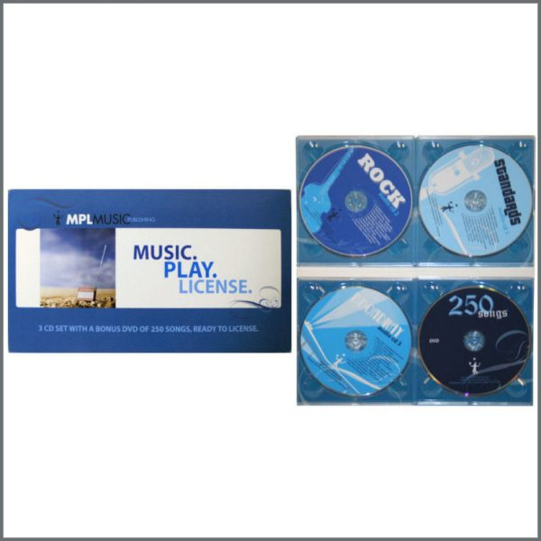 B22847 - Paul McCartney MPL 2008 Music Play License CD/DVD Set (USA)