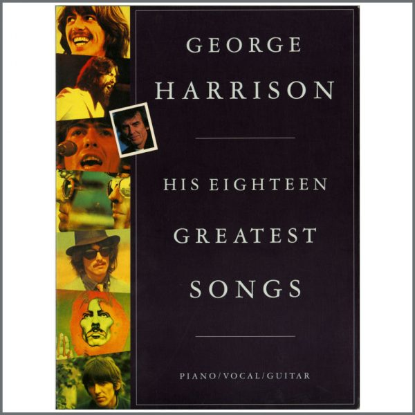 B22992 - George Harrison His Eighteen Greatest Songs Sheet Music Book (UK)