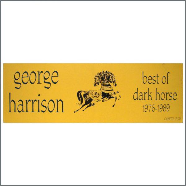 B23299 - George Harrison Best Of Dark Horse Shop Display (UK)