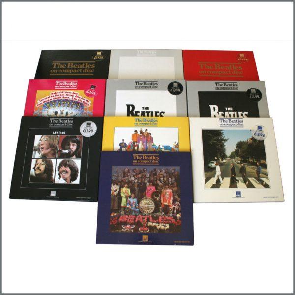 B23380 - The Beatles 1987 HMV Limited Edition Box Sets Complete Set (UK)