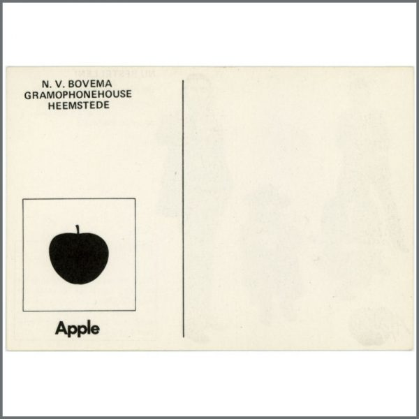 B23473 – The Beatles 1970 Let It Be Apple Promo Postcard (Holland) 2