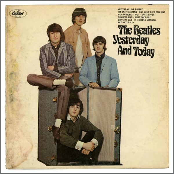B23493 - The Beatles 1966 Yesterday And Today Unpeeled Second State Butcher Cover (USA)