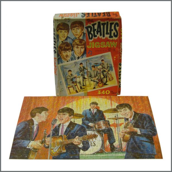 B23520 - The Beatles 1960s Official NEMS Jigsaw (UK)