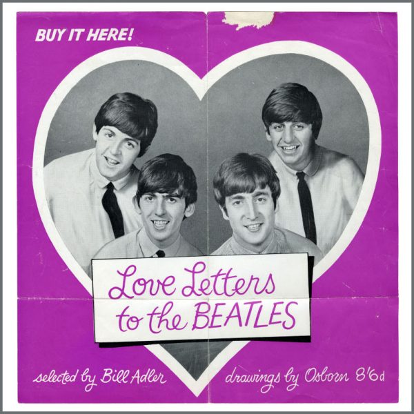 B23539 - The Beatles 1964 Love Letters To The Beatles Promotional Poster (UK)