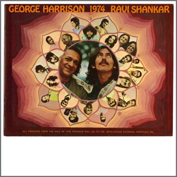 B23628 - George Harrison 1974 North American Tour Programme (USA)