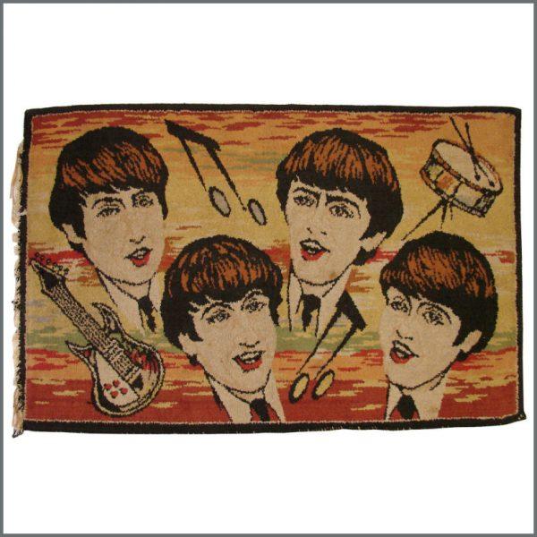 B23636 - The Beatles 1960s Belgian Rug (Belgium)