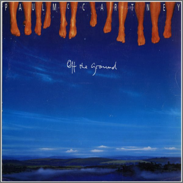 B23696 - Paul McCartney 1993 Off The Ground Promotional Window Card (USA)