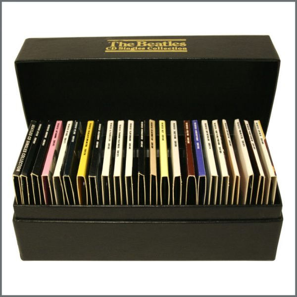 B23707 - The Beatles 1989 CD Singles Collection Box Set (UK)