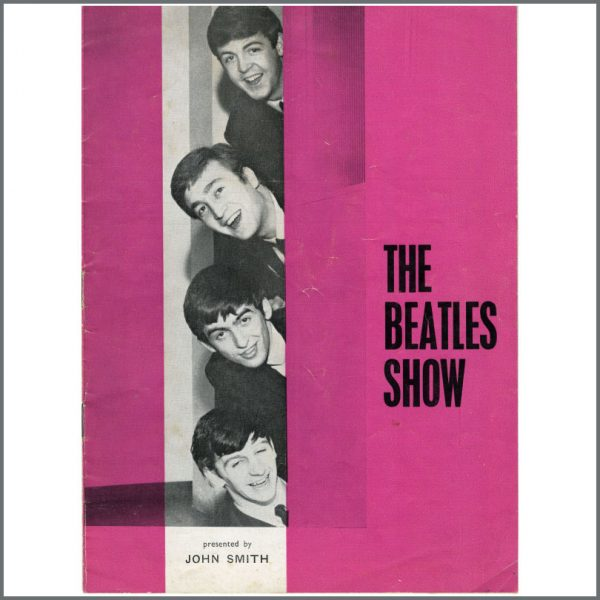 DUPLICATE B23711 - The Beatles September 1963 Concert Programme (UK)