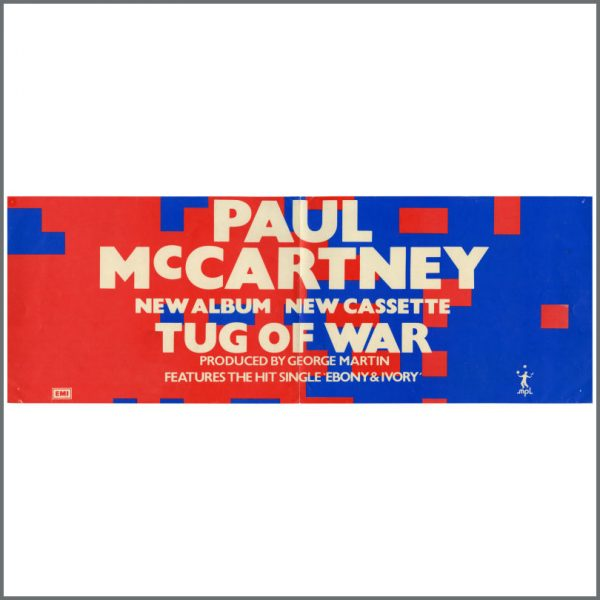 B23720 - Paul McCartney 1982 Tug Of War Promotional Poster