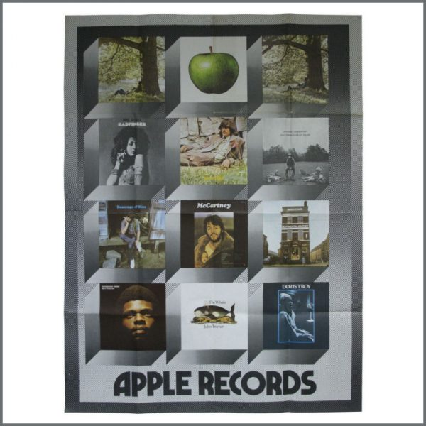 B23762 - Apple Records 1970s Promotional Poster (UK)