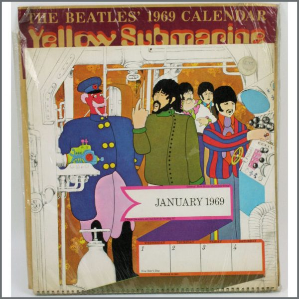 B23860 - The Beatles 1969 Yellow Submarine Calendar (USA)