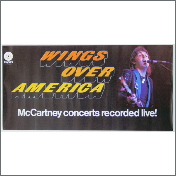 B23942 - Wings 1976 Wings Over America Capitol Records Poster (USA)